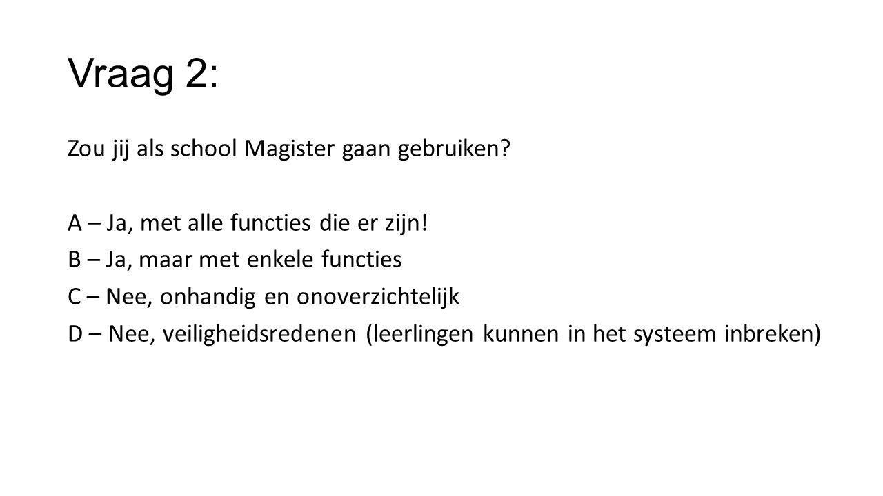 Vraag 2: