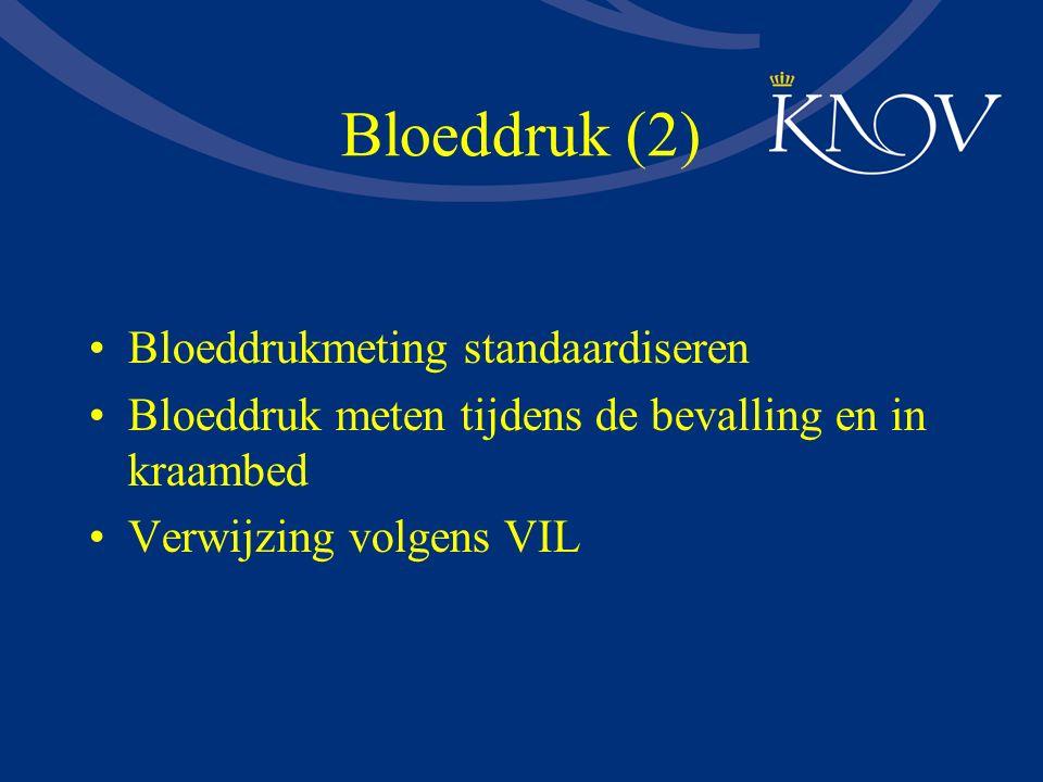 Bloeddruk (2) Bloeddrukmeting standaardiseren