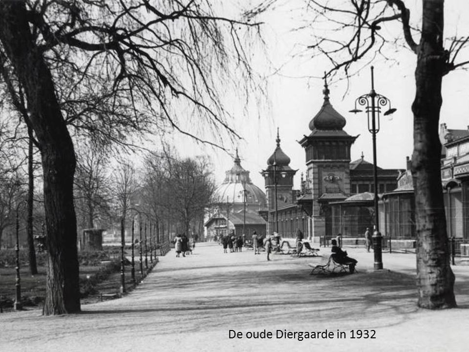 De oude Diergaarde in 1932