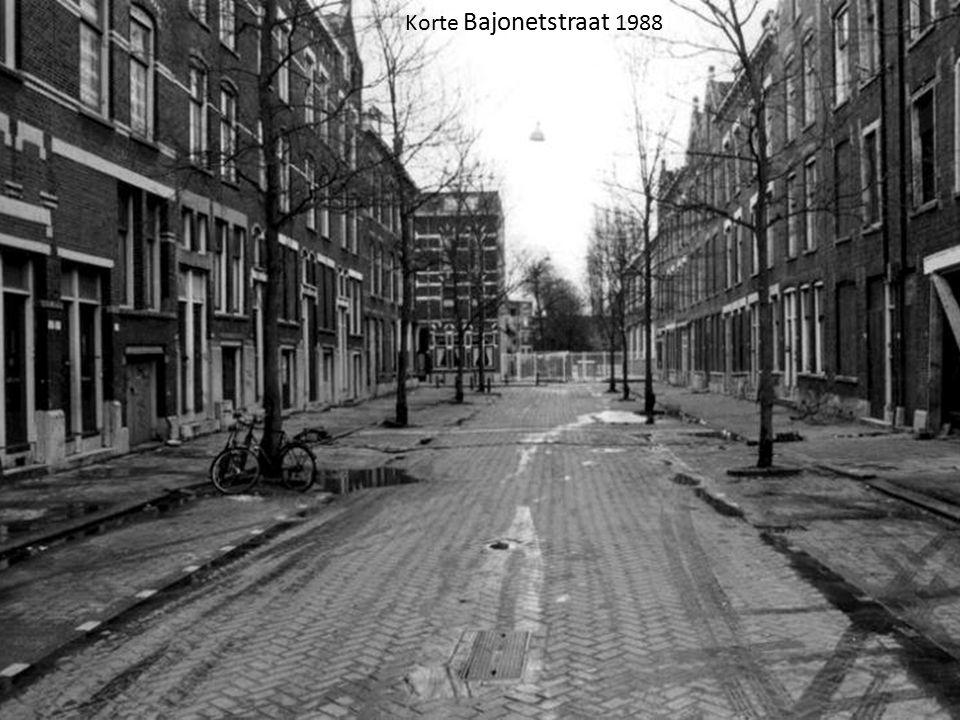 Korte Bajonetstraat 1988