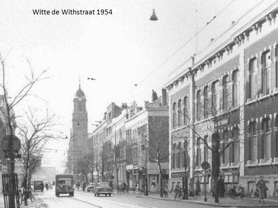 Witte de Withstraat 1954