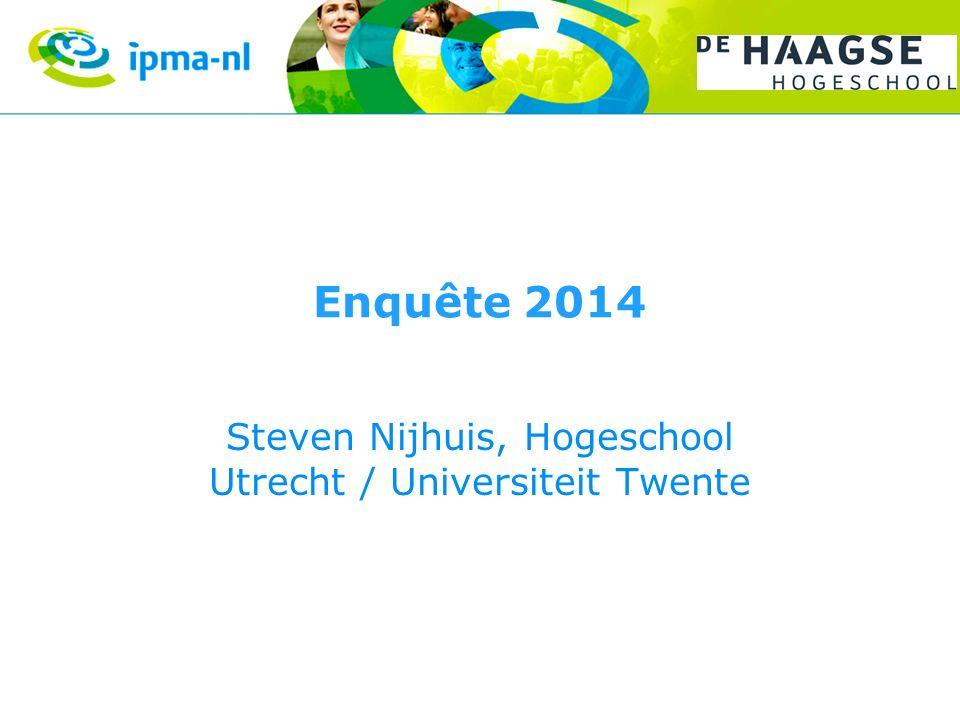 Steven Nijhuis, Hogeschool Utrecht / Universiteit Twente