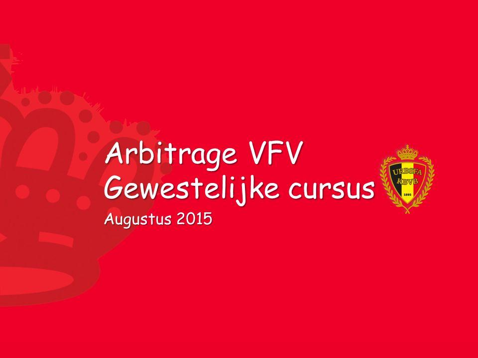 Arbitrage VFV Gewestelijke cursus