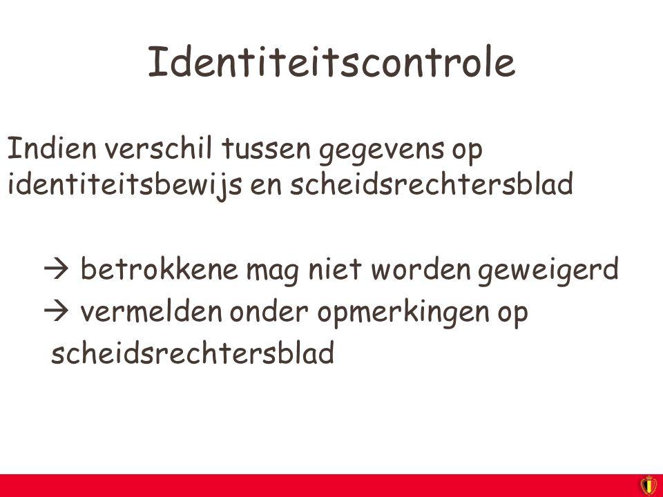 Identiteitscontrole