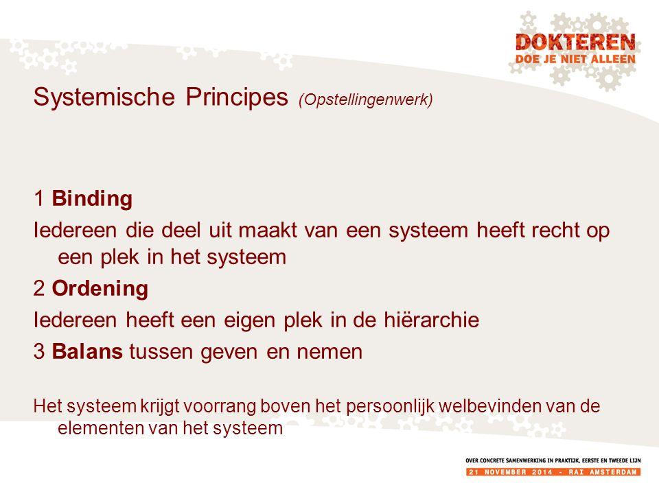 Systemische Principes (Opstellingenwerk)