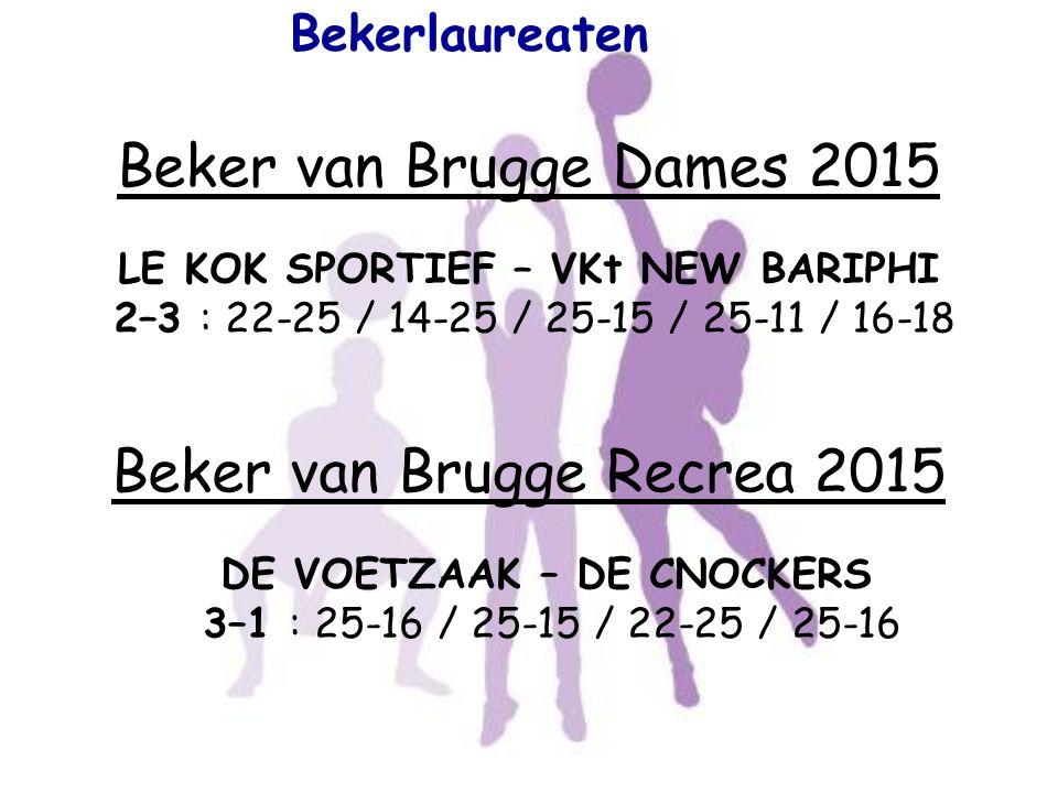 Beker van Brugge Recrea 2015