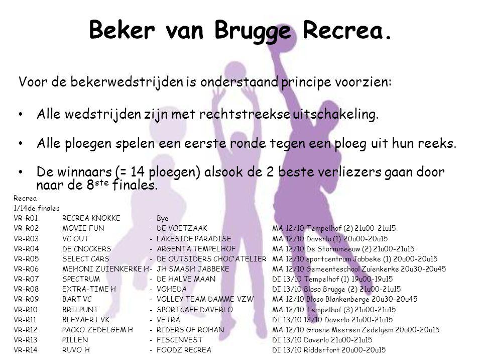 Beker van Brugge Recrea.