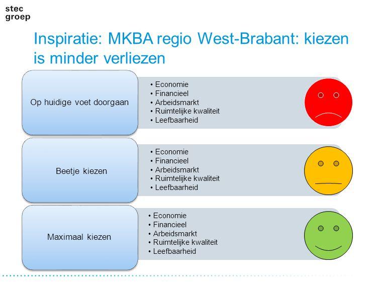 Inspiratie: MKBA regio West-Brabant: kiezen is minder verliezen