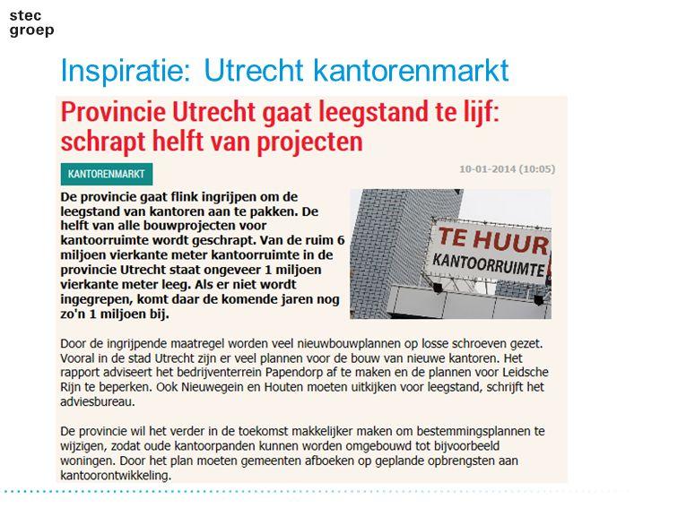 Inspiratie: Utrecht kantorenmarkt