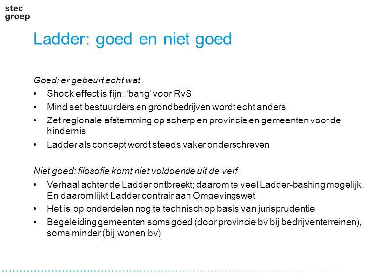 Ladder: goed en niet goed
