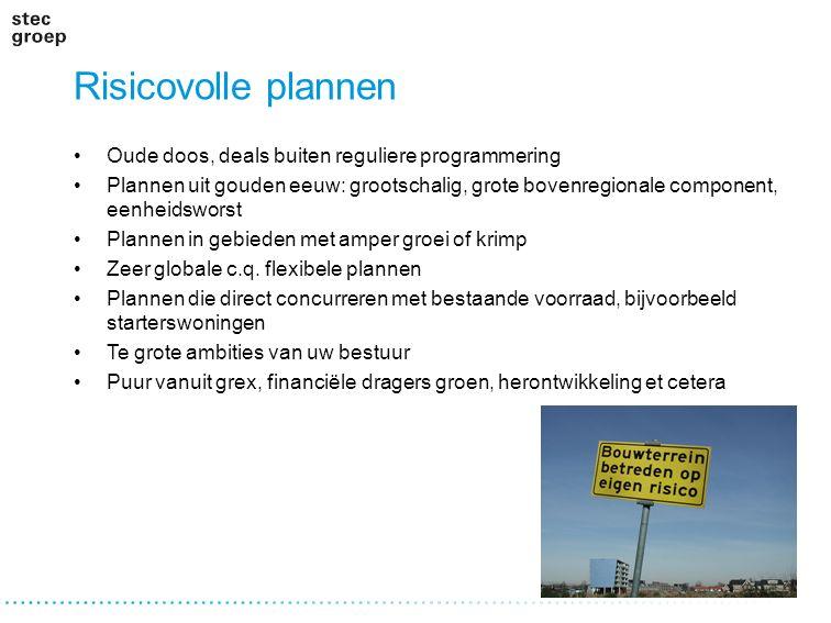 Risicovolle plannen Oude doos, deals buiten reguliere programmering