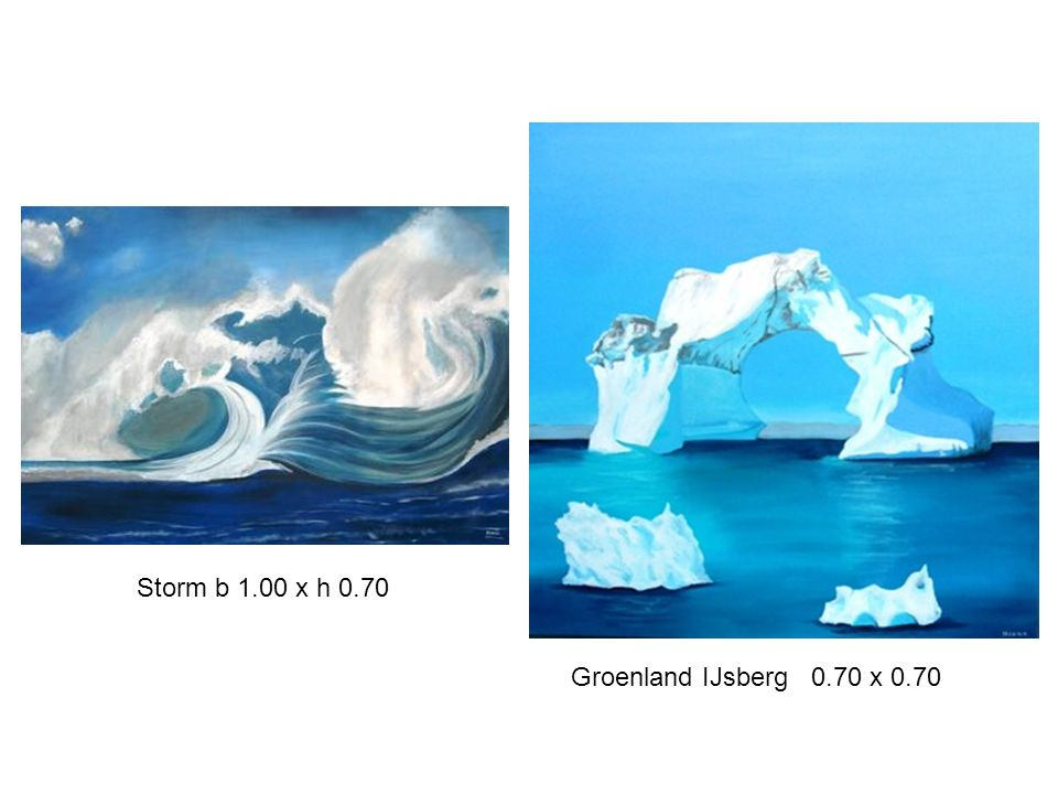 Storm b 1.00 x h 0.70 Groenland IJsberg 0.70 x 0.70