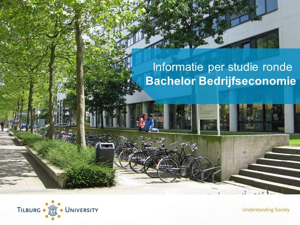 Informatie per studie ronde Bachelor Bedrijfseconomie