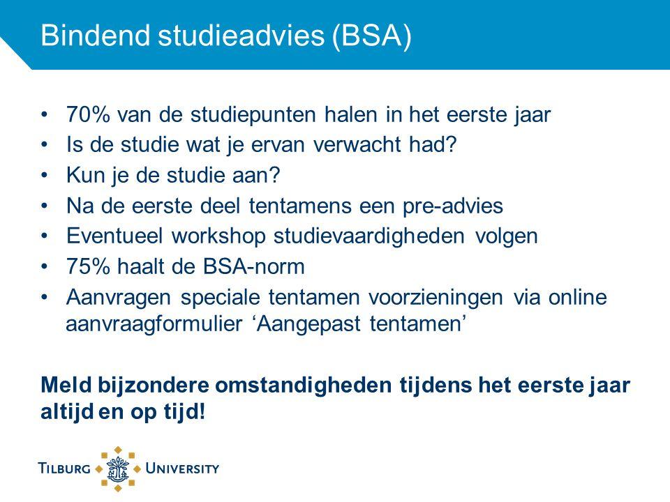 Bindend studieadvies (BSA)
