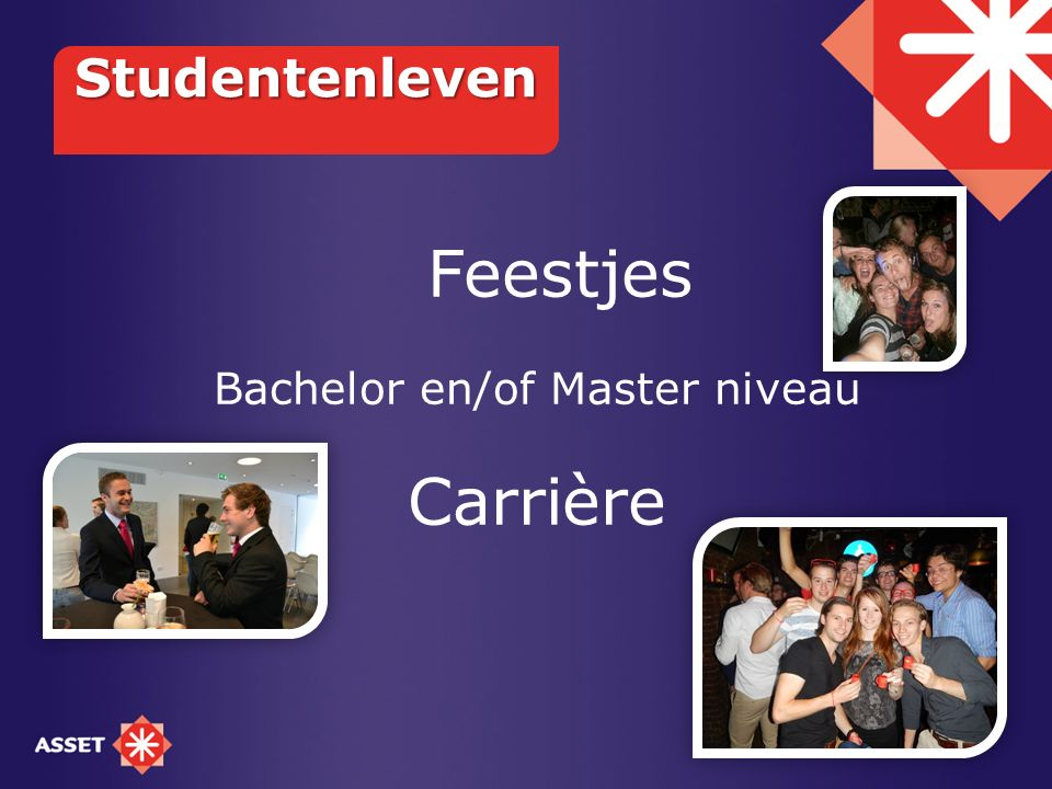 Bachelor en/of Master niveau