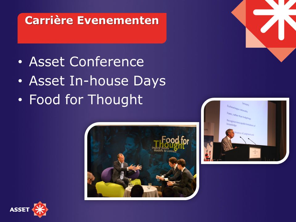 Asset Conference Asset In-house Days Food for Thought