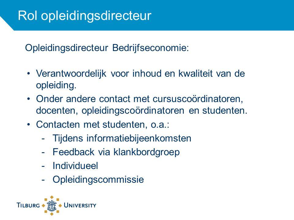 Rol opleidingsdirecteur