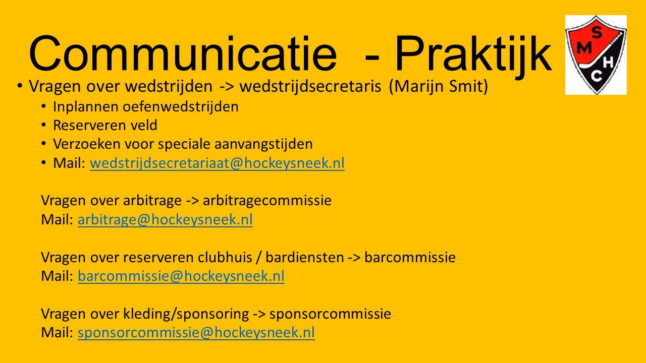 Communicatie - Praktijk