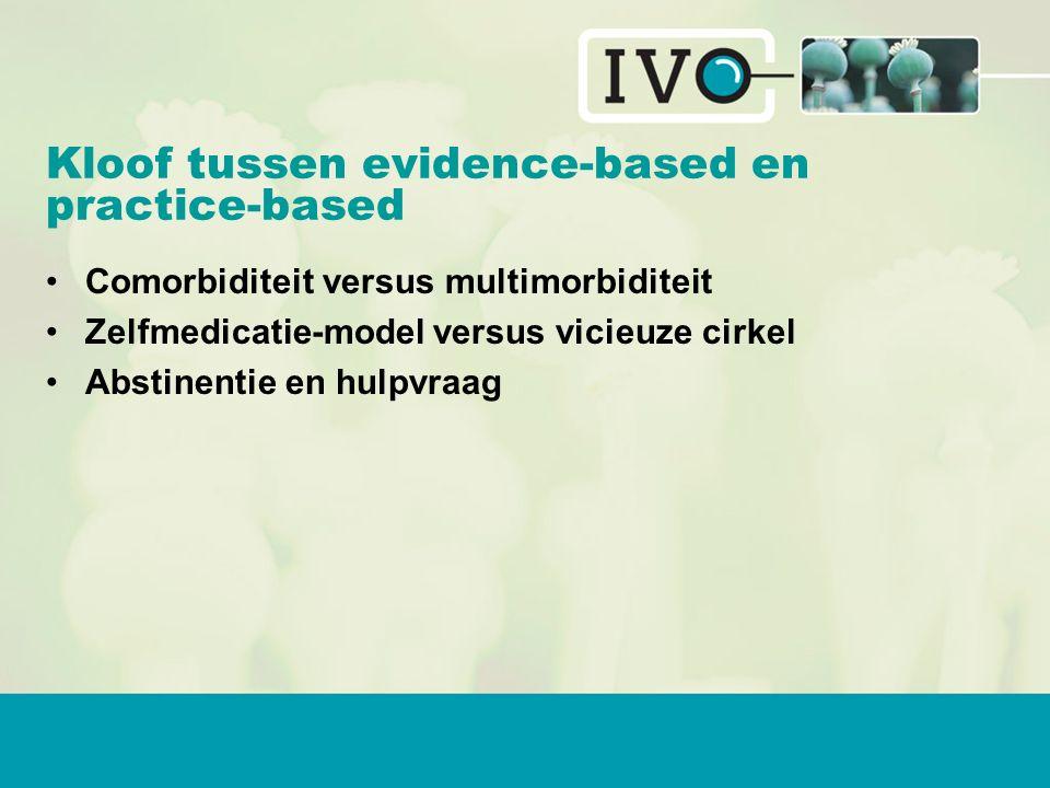Kloof tussen evidence-based en practice-based