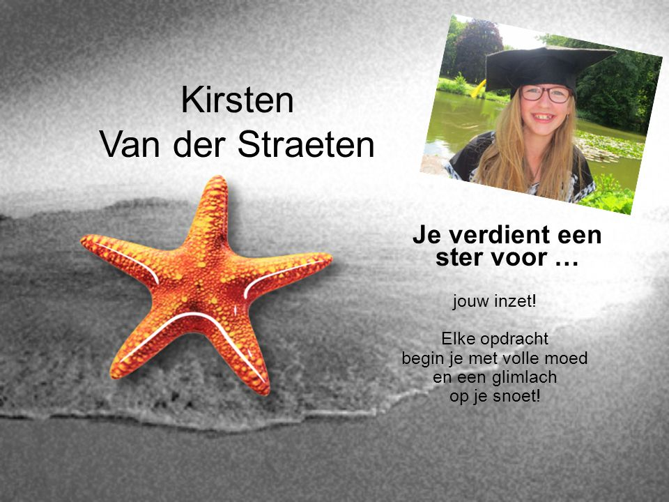 Kirsten Van der Straeten