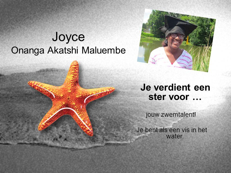 Joyce Onanga Akatshi Maluembe