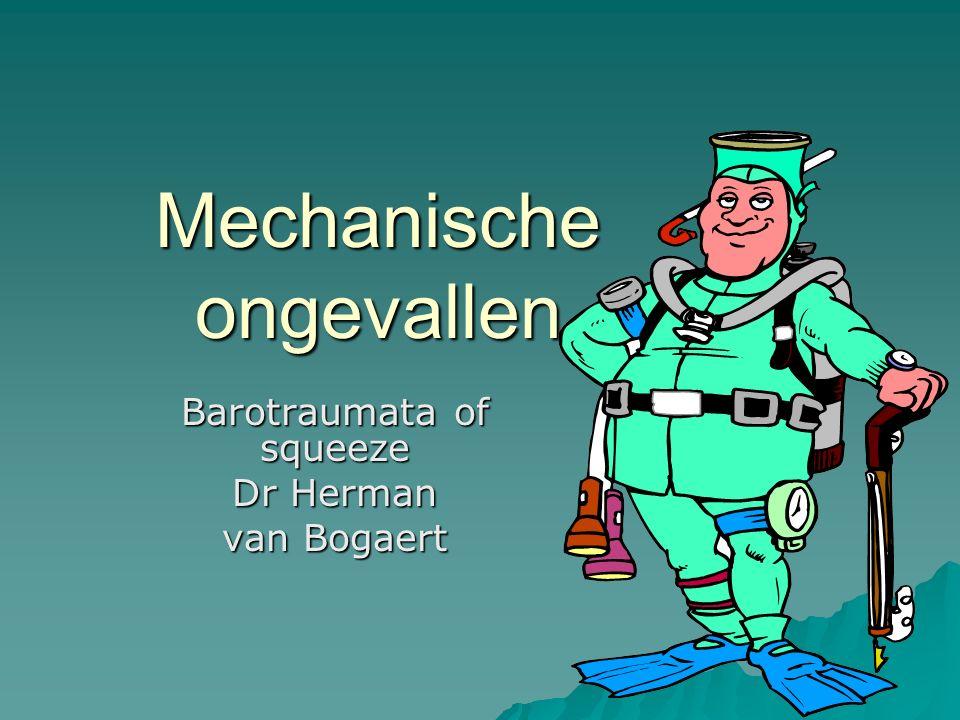 Mechanische ongevallen