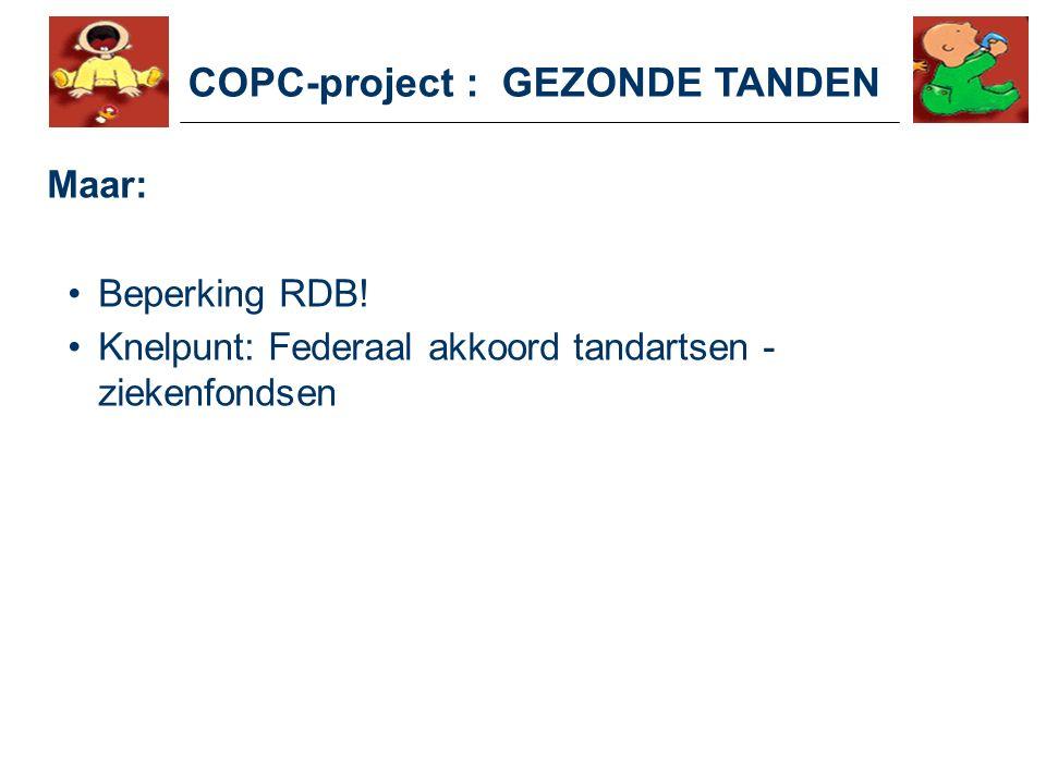COPC-project : GEZONDE TANDEN