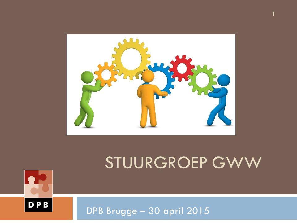 Stuurgroep GWW DPB Brugge – 30 april 2015