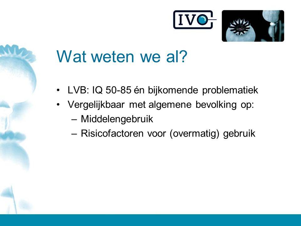 Wat weten we al LVB: IQ 50-85 én bijkomende problematiek