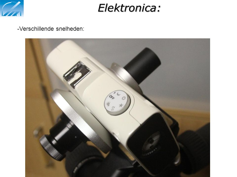 Elektronica: Verschillende snelheden: