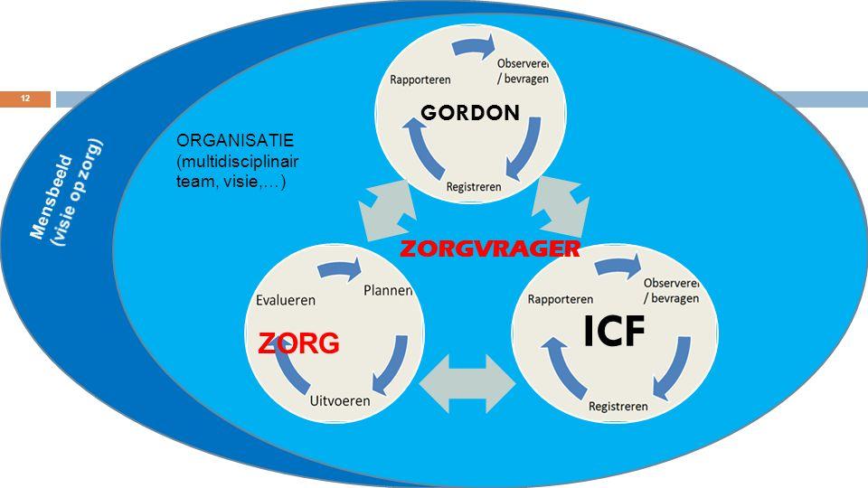ICF ZORG GORDON ZORGVRAGER
