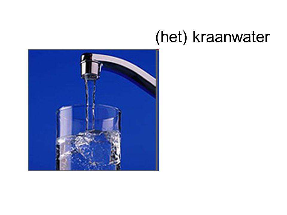 (het) kraanwater