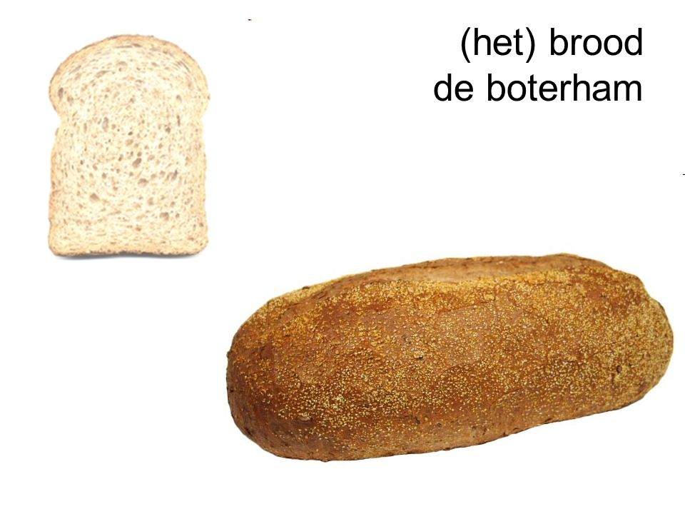 (het) brood de boterham