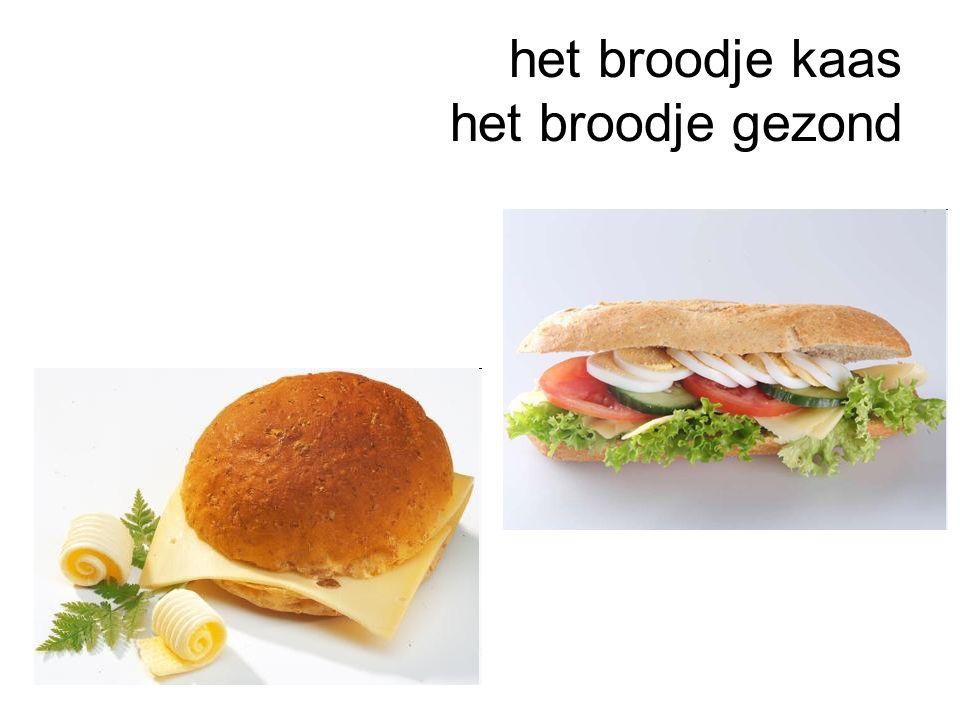 het broodje kaas het broodje gezond