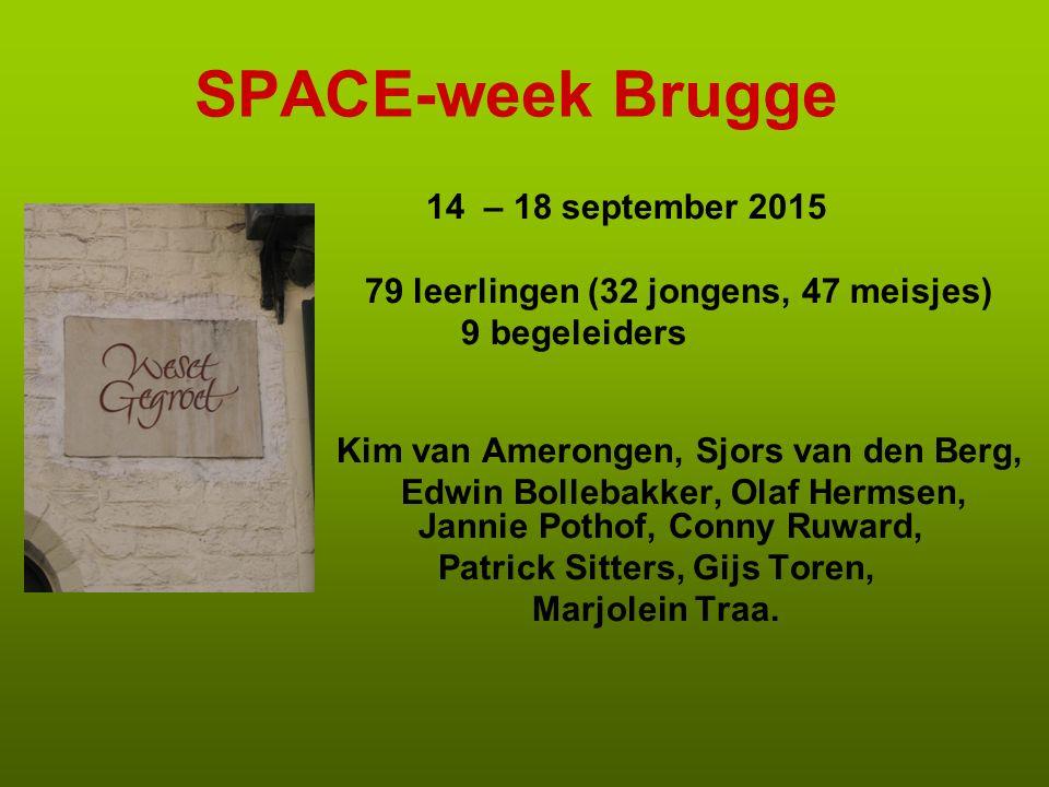 SPACE-week Brugge 14 – 18 september 2015