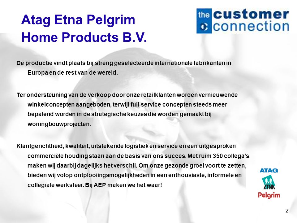 Atag Etna Pelgrim Home Products B.V.