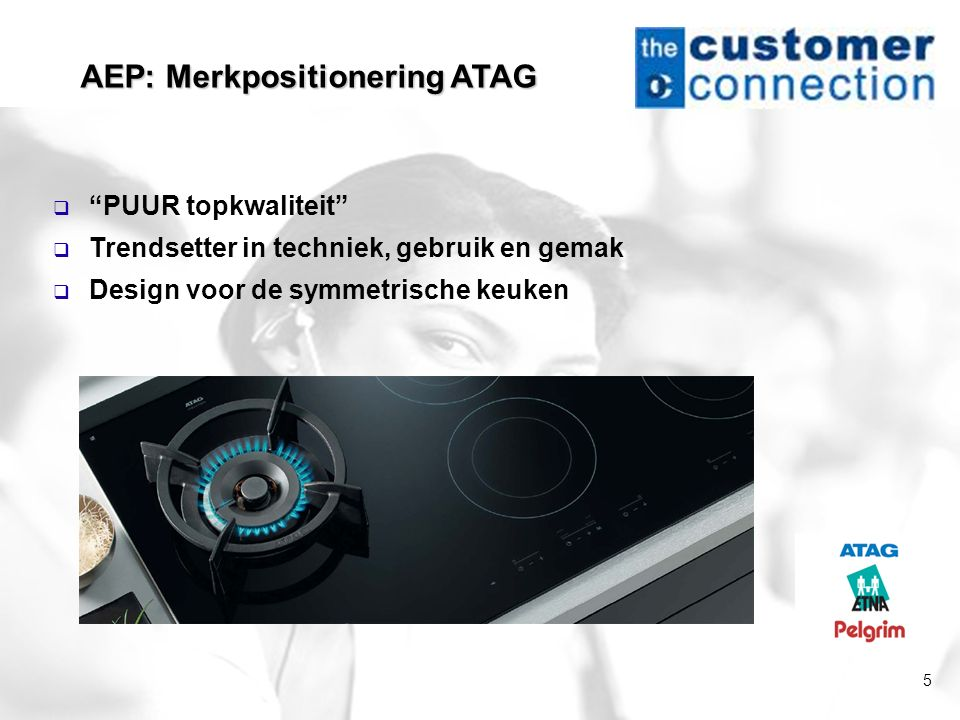 AEP: Merkpositionering ATAG