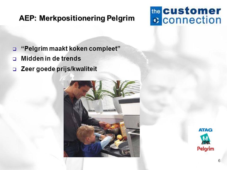 AEP: Merkpositionering Pelgrim