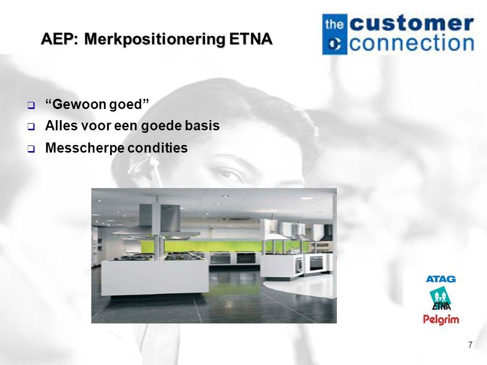 AEP: Merkpositionering ETNA