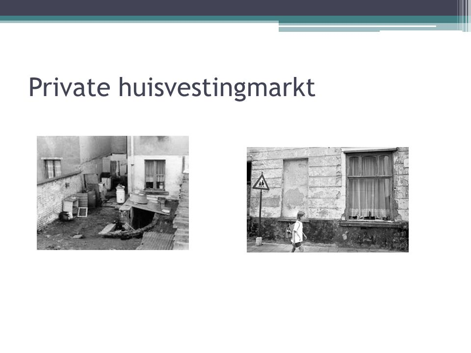 Private huisvestingmarkt