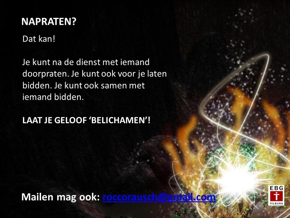 Mailen mag ook: roccorausch@gmail.com