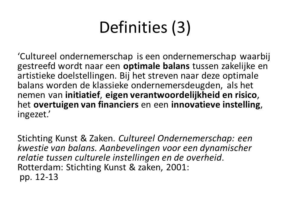 Definities (3)