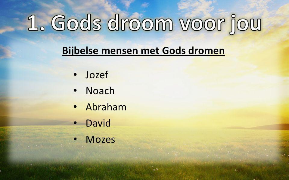 Bijbelse mensen met Gods dromen