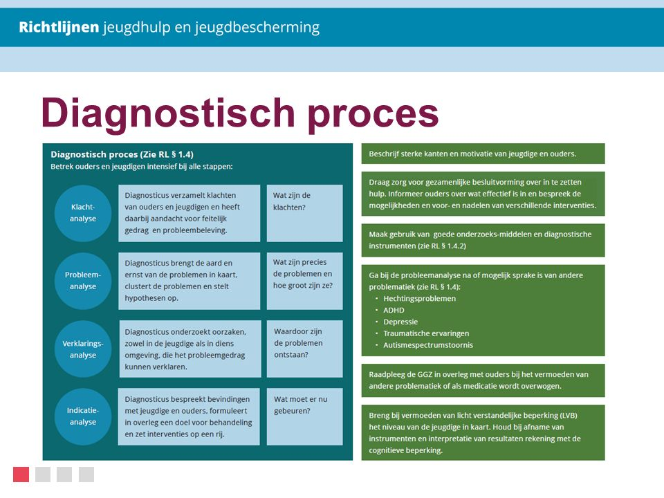 Diagnostisch proces Diagnostisch proces