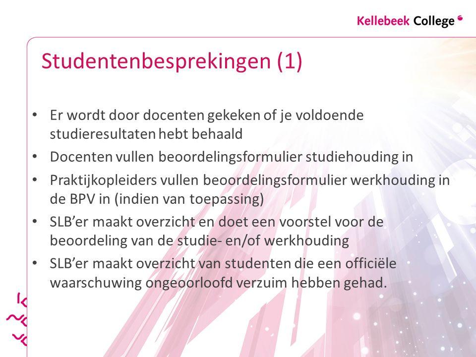 Studentenbesprekingen (1)