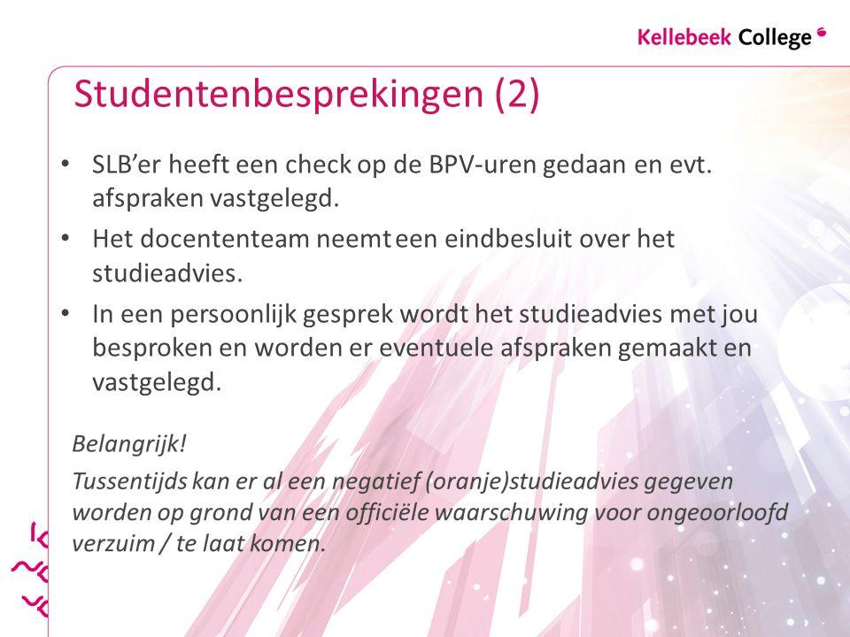 Studentenbesprekingen (2)
