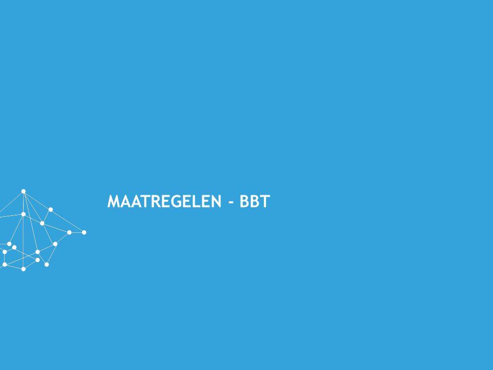 MAATREGELEN - BBT