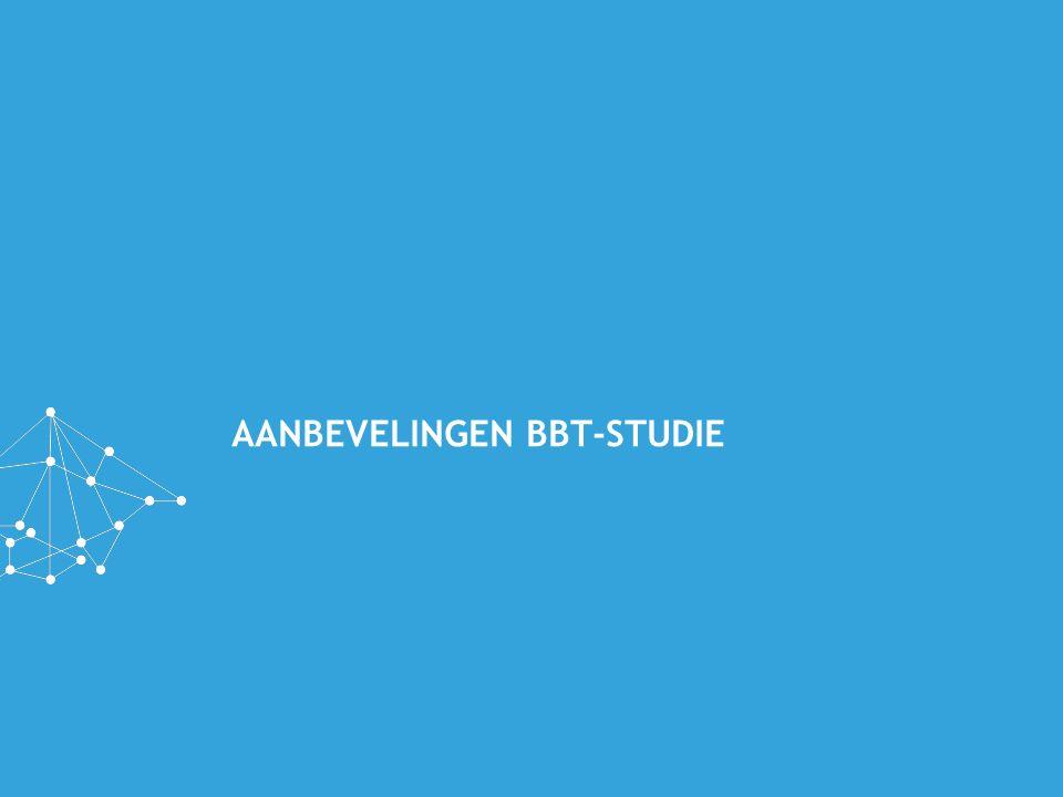AANBEVELINGEN BBT-STUDIE