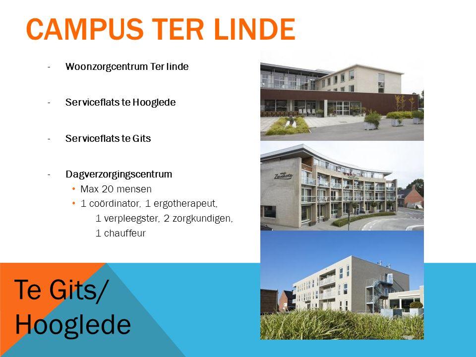 Campus Ter Linde Te Gits/ Hooglede Woonzorgcentrum Ter linde