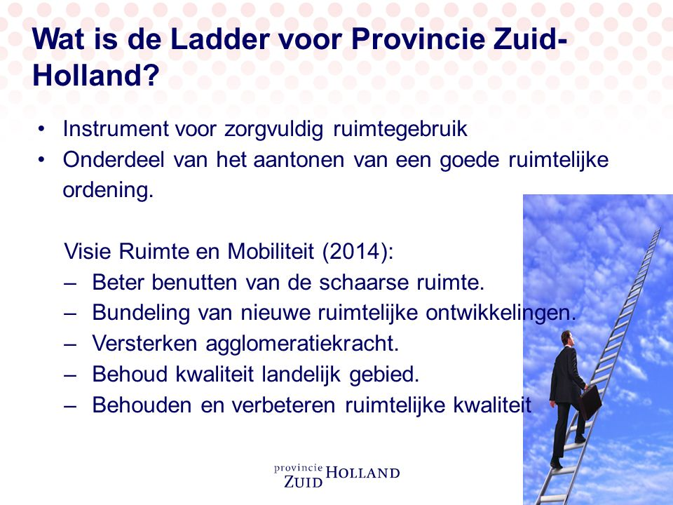 Ladder en Verordening ruimte 2014